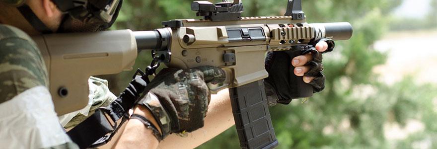 Répliques d'armes à feu